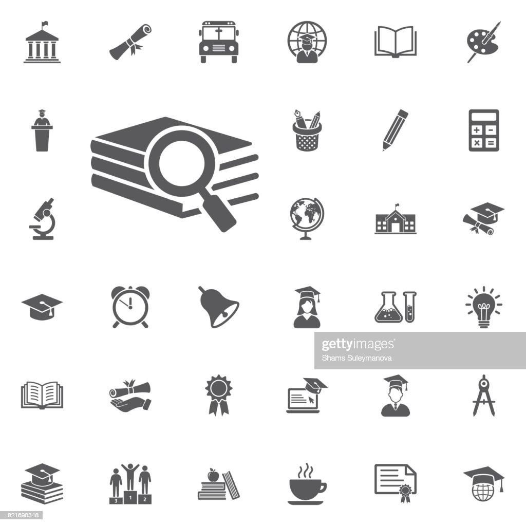 Book search icon.