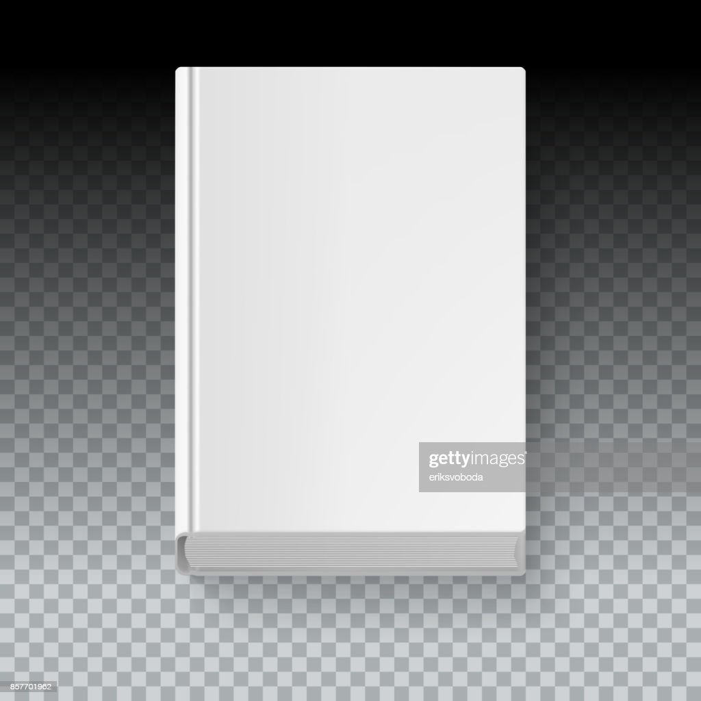 Book template, top view