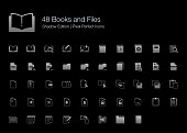 Books and Files Pixel Perfect Icons