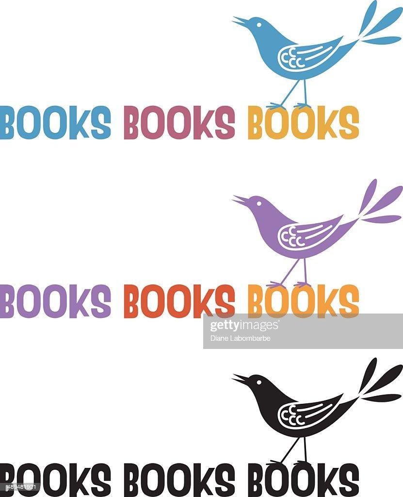 Books Bird Icon