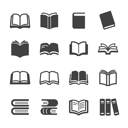 Books Icons - Acme Series - gettyimageskorea