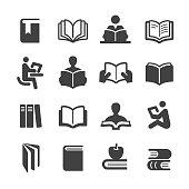 Books Icons Set - Acme Series