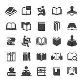 Books Icons Set - Smart Series