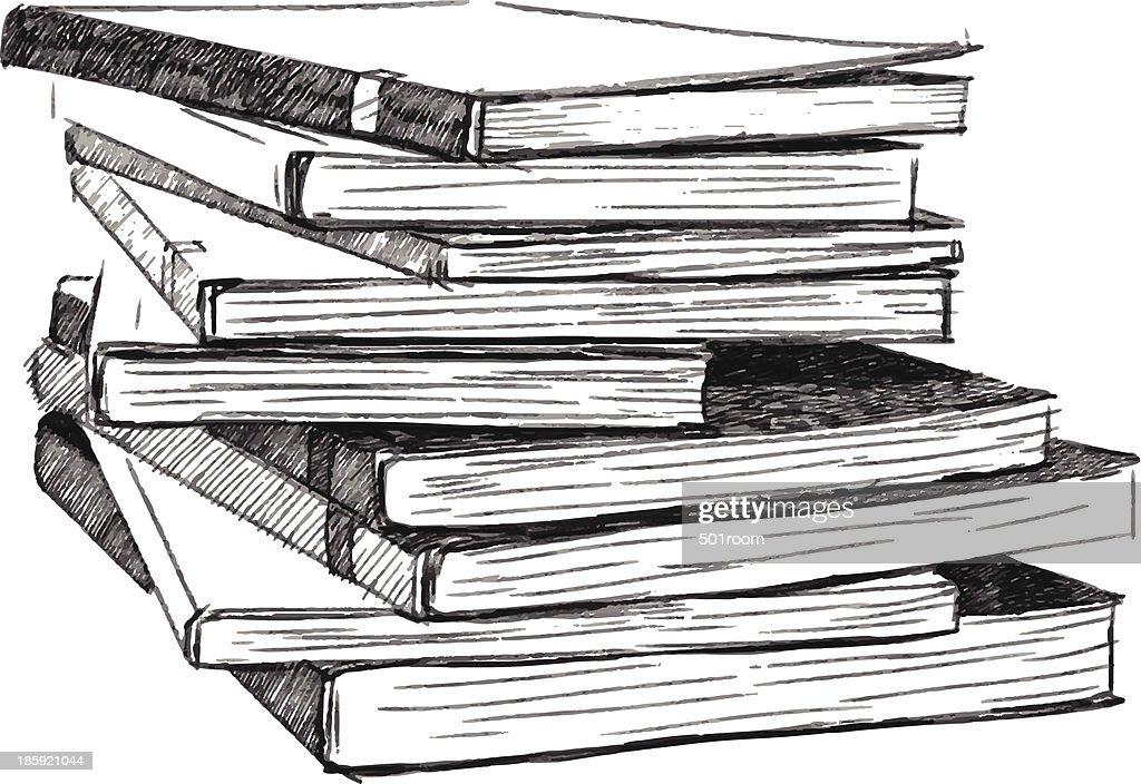 Books sketch