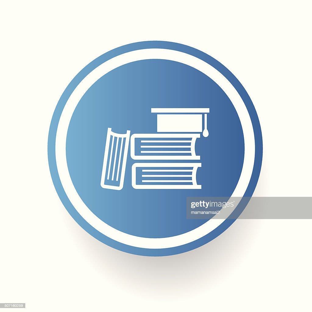 Books symbol,vector