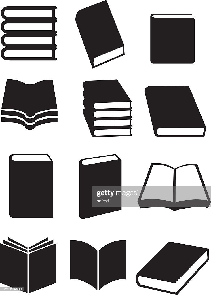 Books Vector Icon Set