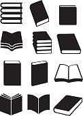 Books Vector Icon Set