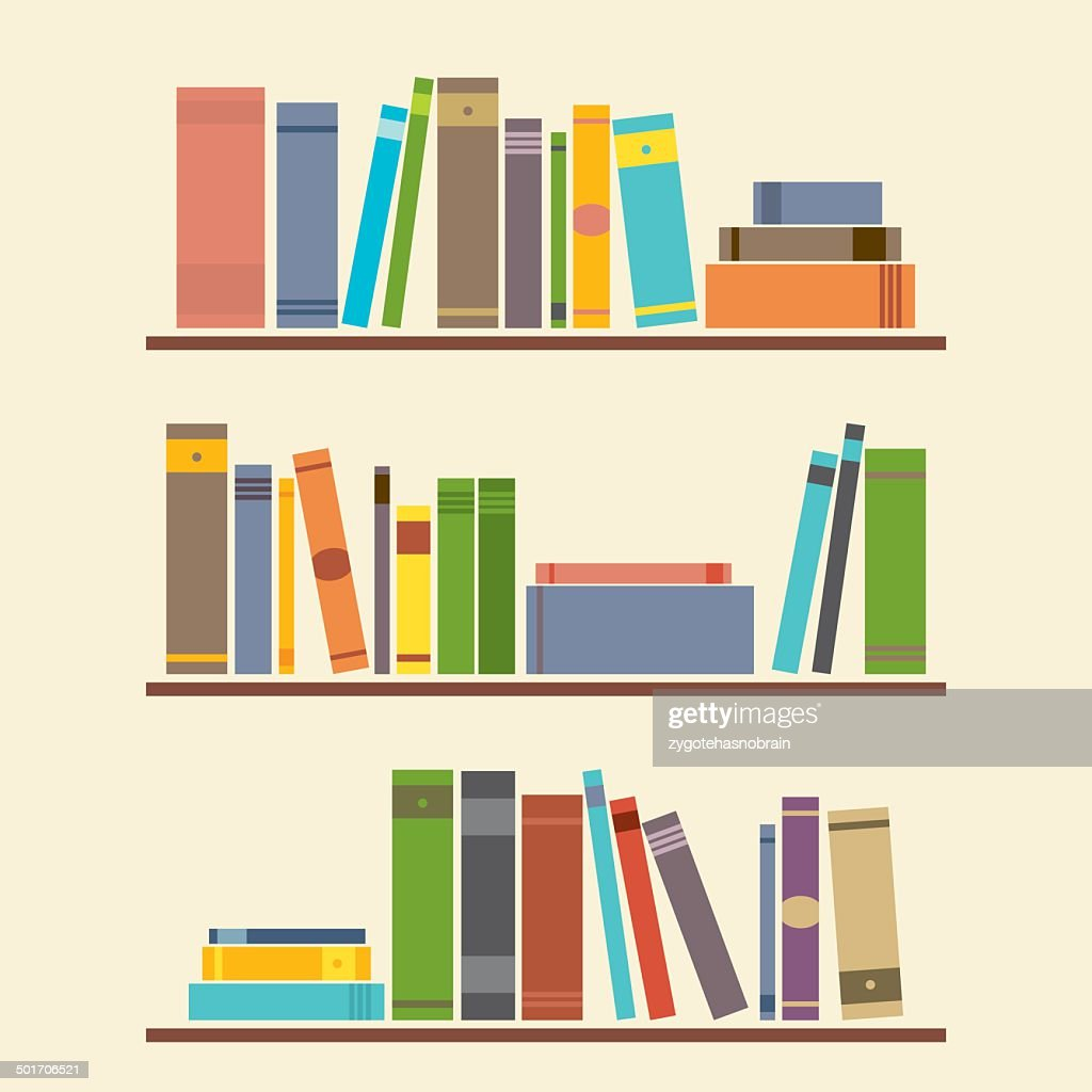 Bookshelf Graphic