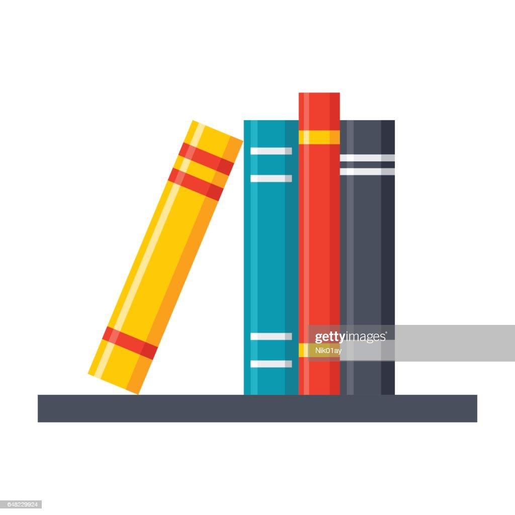 Bookshelf Vector Icon