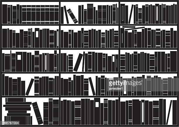 ilustrações, clipart, desenhos animados e ícones de esetante de livro - livraria