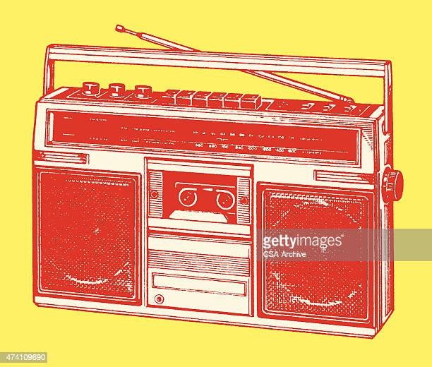 boom box - 2015 stock illustrations