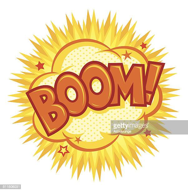 boom effect - shooting a weapon stock illustrations, clip art, cartoons, & icons