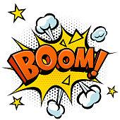 Boom Effect Vector
