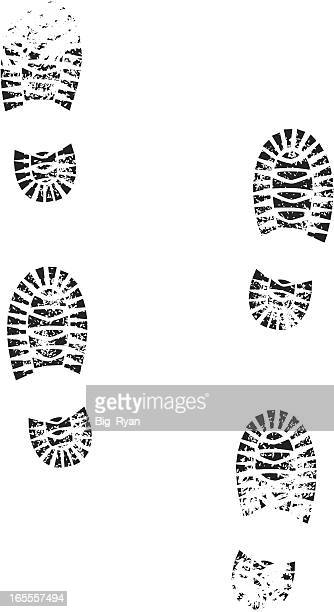 boots - crime scene stock illustrations, clip art, cartoons, & icons