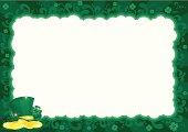 Border  for St. Patrick's Day
