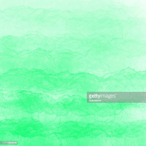 border of hues of turquoise green paint splashing droplets. watercolor strokes design element. turquoise green colored hand painted abstract texture. - splashing droplet stock illustrations, clip art, cartoons, & icons