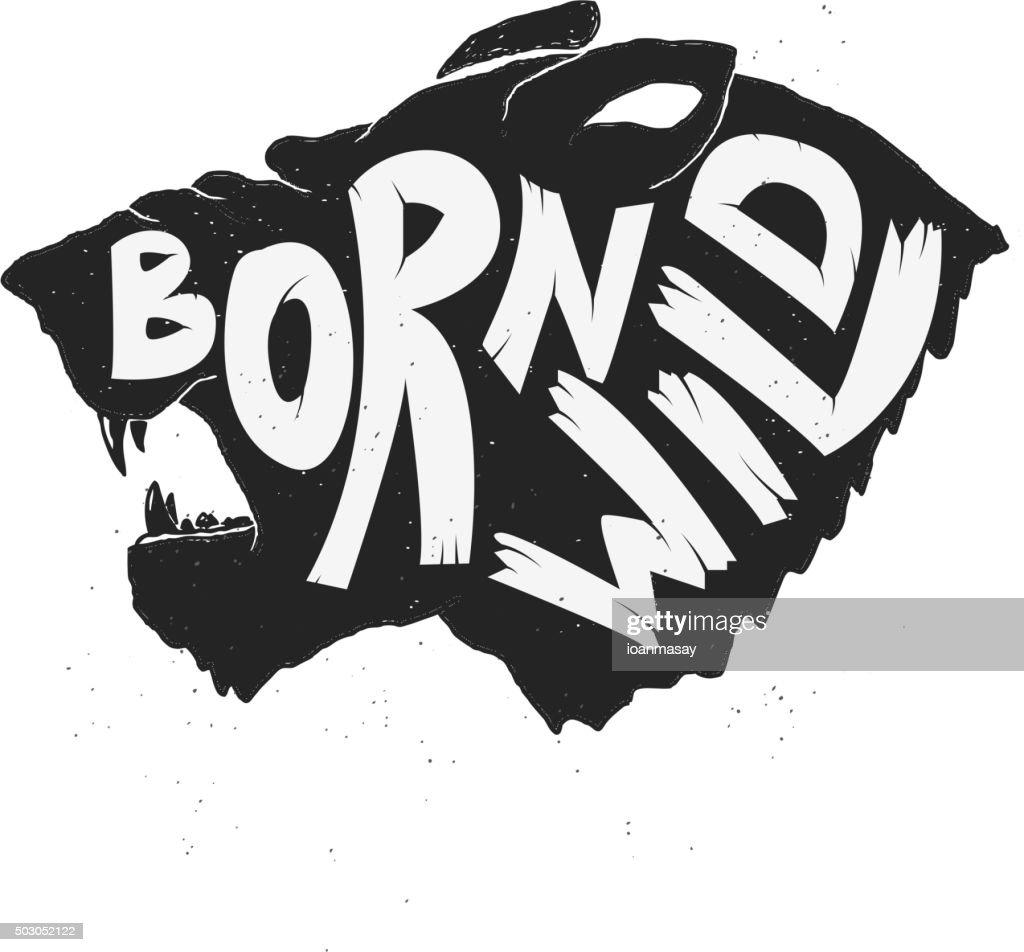 born wild tiger