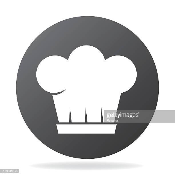 boss has - chef's hat stock illustrations