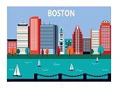 Boston city, Massachusetts, USA