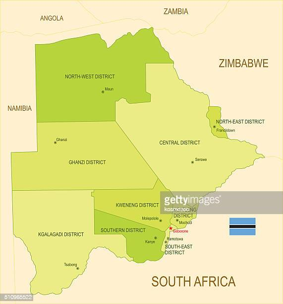 botswana - zimbabwe stock illustrations, clip art, cartoons, & icons