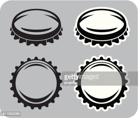 bottle cap vector art | getty images