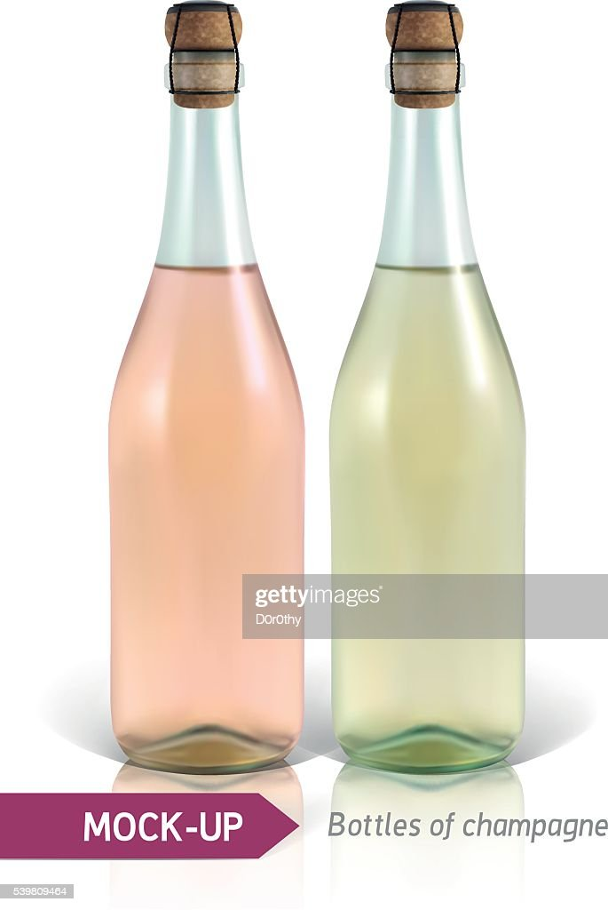 bottles of champagne