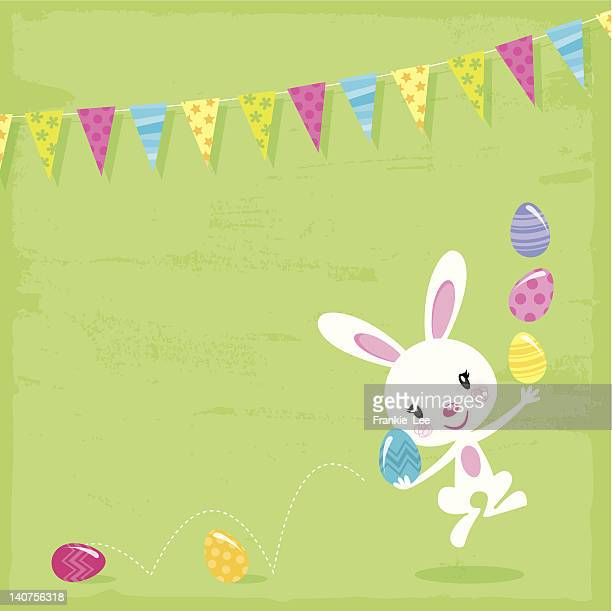Bouncing Easter Bunny