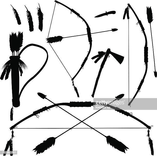 60 Top Bow And Arrow Stock Illustrations, Clip art, Cartoons
