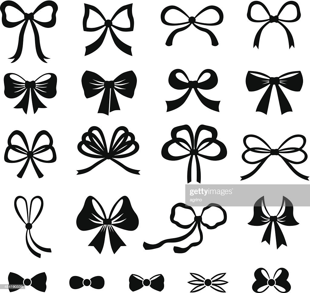 Bow set : Vector Art
