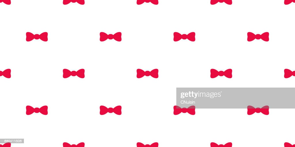 Bow tie gift vector seamless pattern wallpaper background