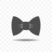 Bow tie icon design concept.