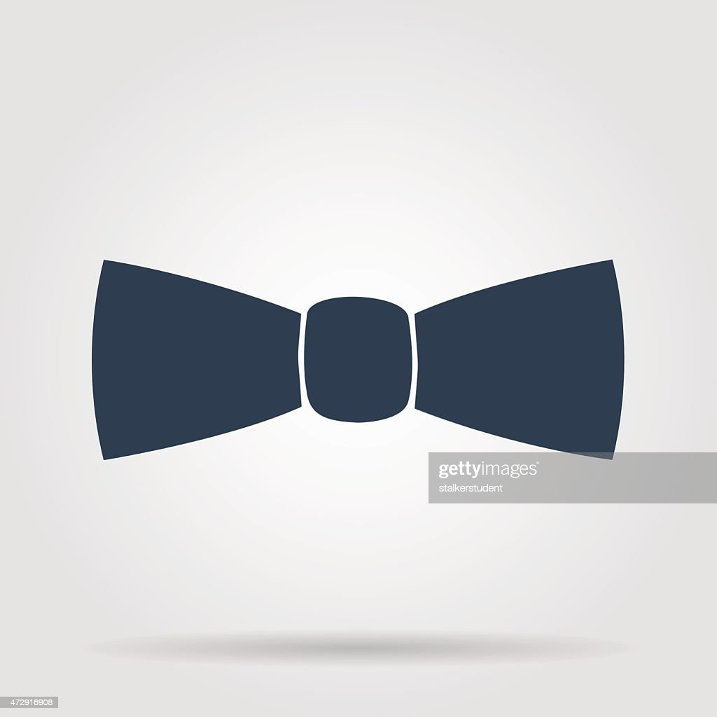 Bow tie, icon vector