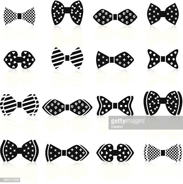 Bow tie with patterns