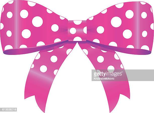bow - hair bow stock illustrations