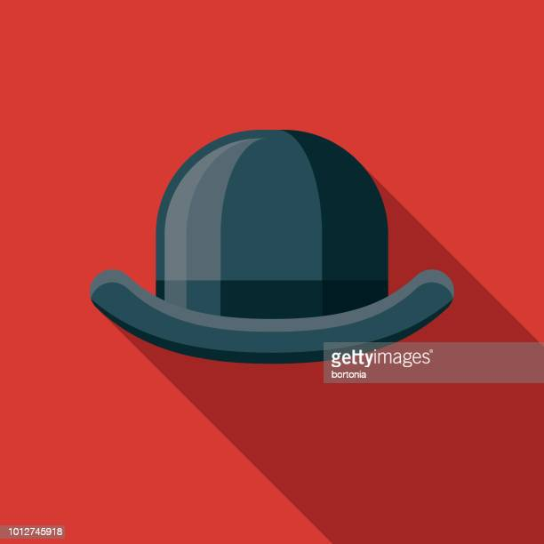 Bowler Hat Design United Kingdom Icon