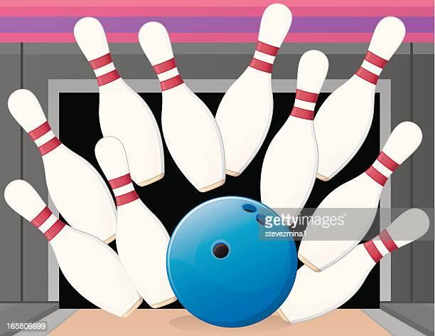 Bowlingkugel Streik