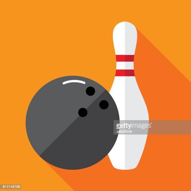 Bowling Pin pictogram plat