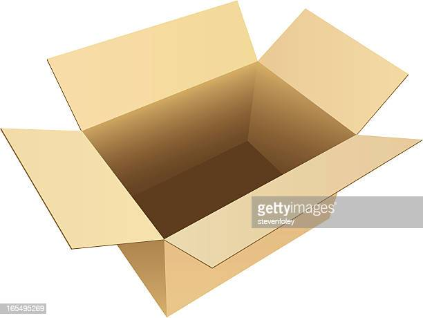 Box Empty Cardboard