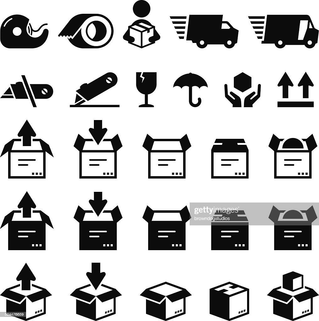 Box Icons - Black Series