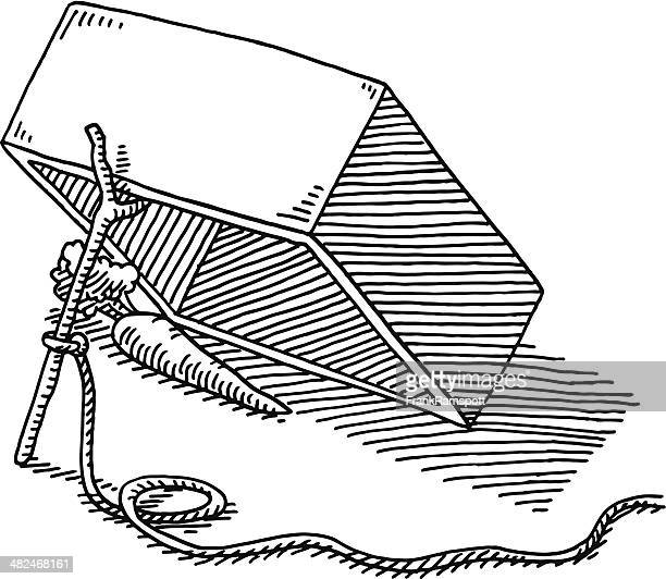 ilustrações de stock, clip art, desenhos animados e ícones de box armadilha cenoura desenho de corda - cenoura