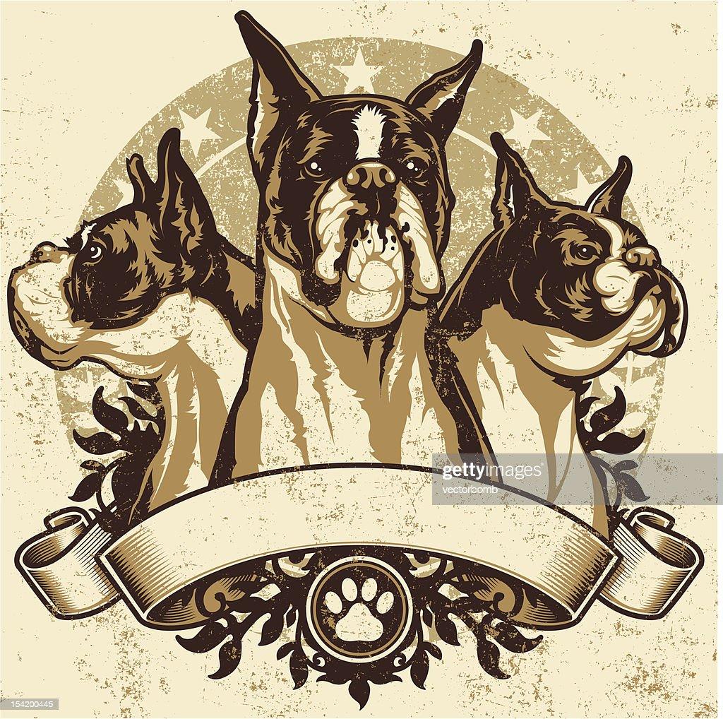 Boxer Crest Design