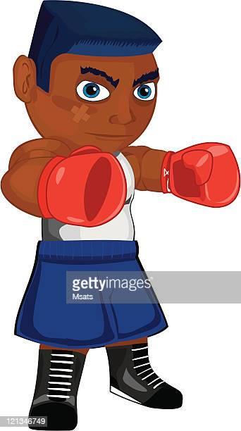 ボクサーの攻撃