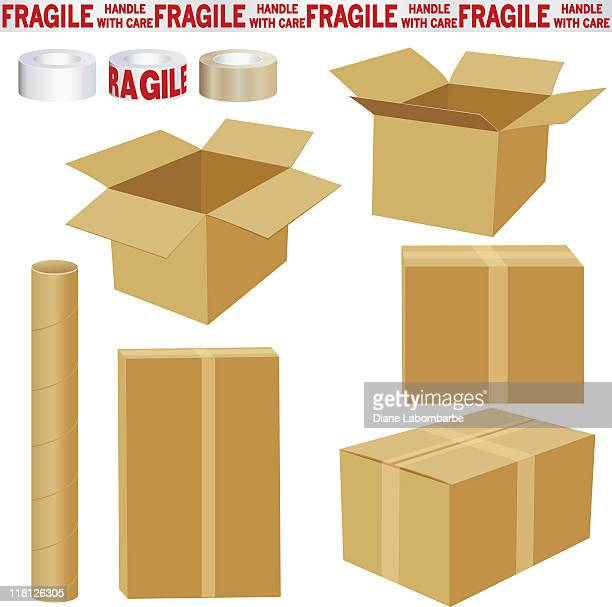 Boxes and Packing Materials