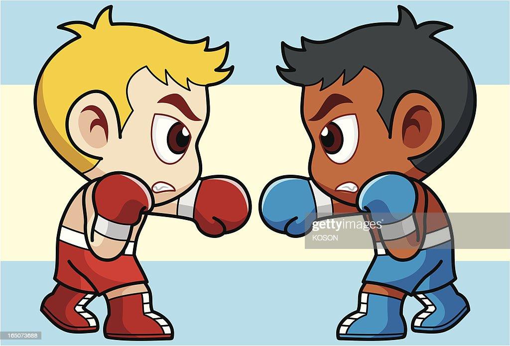 Boxing Cartoon