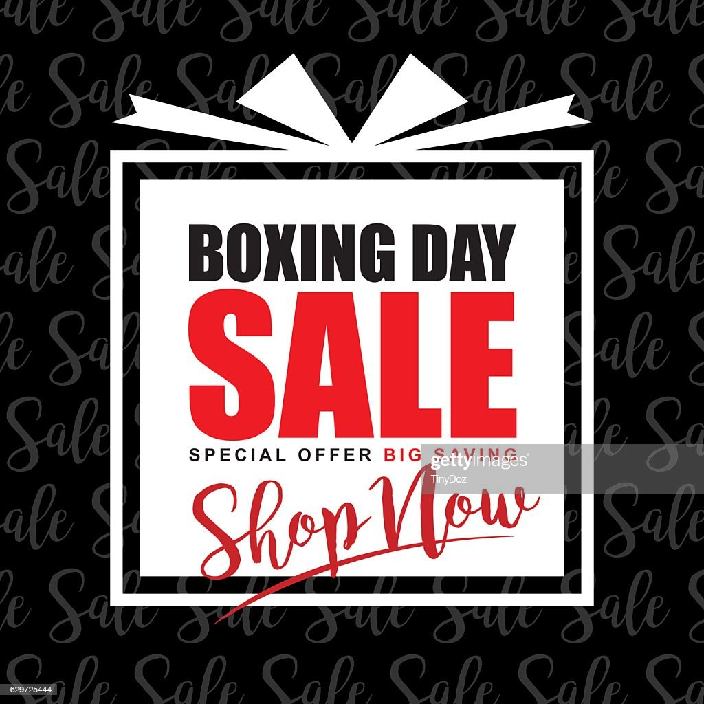 Boxing day sale 1