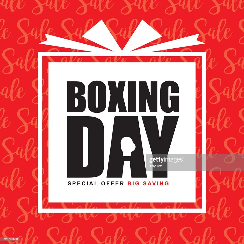 Boxing day sale 2