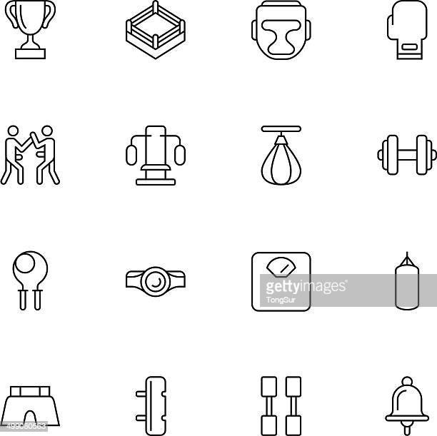 Boxing Icons - Light