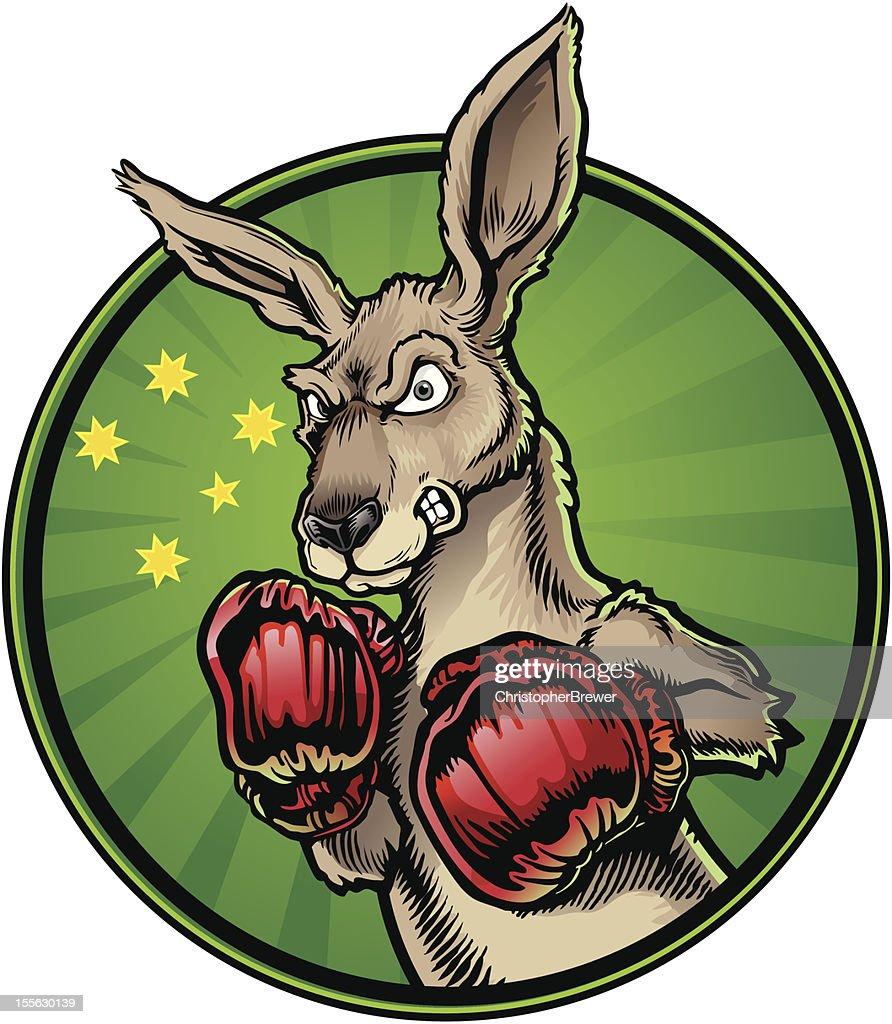 Boxing Kangaroo