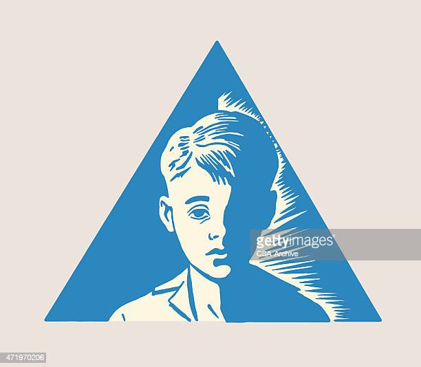 Boy in Triangle