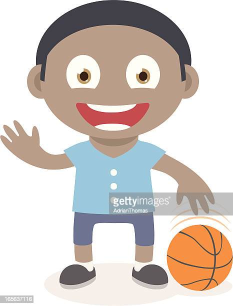 Cartoon Characters Playing Basketball : Kids basketball cartoon stock illustrations and cartoons